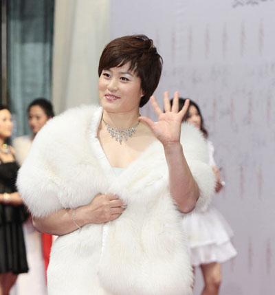 李艳凤在2011年体坛风云人物颁奖盛典上。