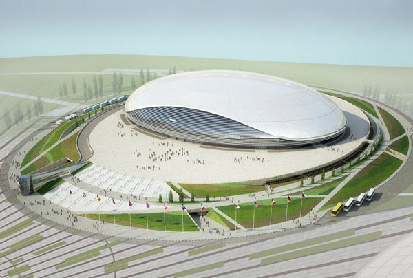 "波尔肖冰宫(The ""Bolshoy"" Ice Dome)"