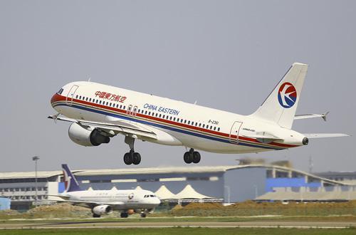东航的空客A320飞机
