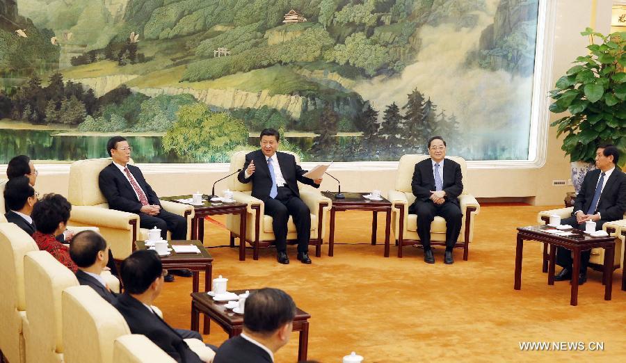 الرئيس الصيني يرسل تهنئة العيد لشخصيات خارج الحزب الشيوعي الصيني