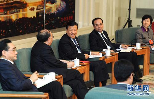 شارك ليو يون شان وفد يلدية تشونغتشينغ في المراجعة