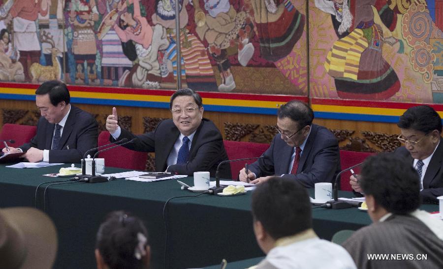 كبير المستشارين الصينيين يشدد على سلطة القانون في التبت