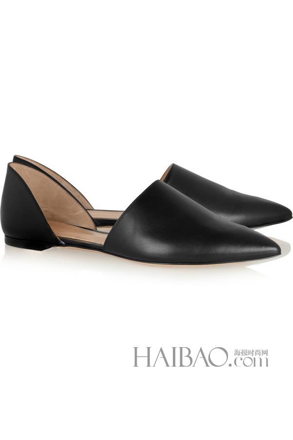鞋履流行趋势之尖头平底鞋