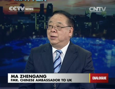 Ambassador Ma Zhenggang, Former Chinese Ambassador to UK