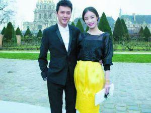 冯绍峰否认情变。