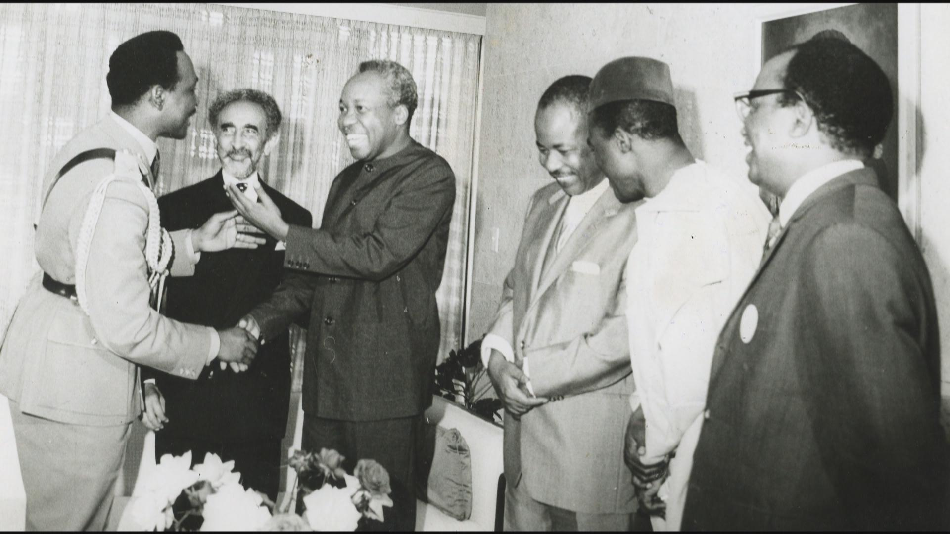 The gallery for --> Haile Selassie Family