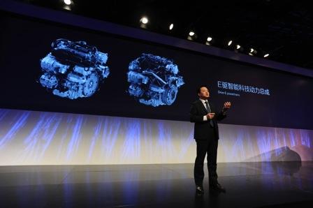 沃尔沃汽车集团中国区研发副总裁沈峰讲解沃尔沃创新技术