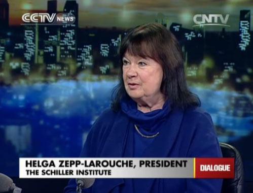 Helga Zepp-Larouche, president of the Schiller Institute