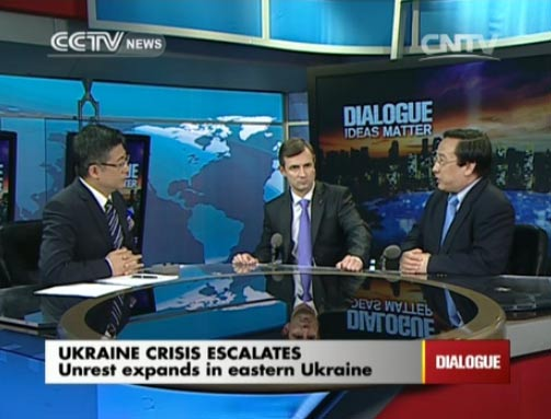 Dialogue 04/15/2014 Ukraine crisis escalates