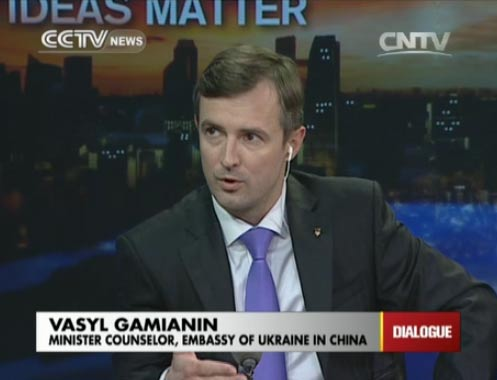 Vasyl Gamianin,  Minister Counselor, Embassy of Ukraine in China