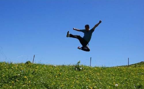 青春激昂 让心飞翔