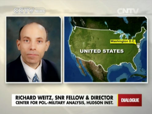 Richard Weitz, Senior fellow and director of Center for Pol.-Military Analysis, Hudson Inst.