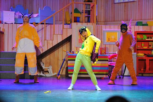 疯狂动物城儿童剧场舞台
