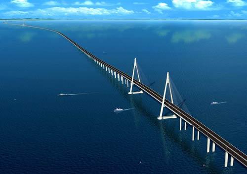 杭州湾跨海大桥全貌