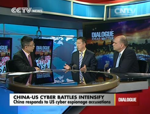 Dialogue 05/27/2014 China-US cyber battles intensify