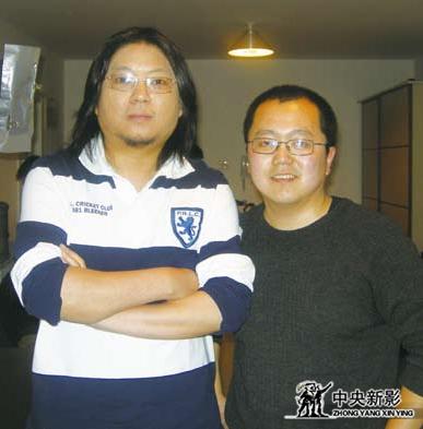 樊志远(右)与高晓松(左)