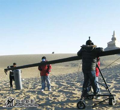 拍摄《大漠长河》