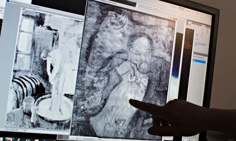 专家正在研究这个男人是谁,毕加索为什么画了他