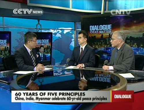 Dialogue 06/29/2014 60 years of Five Principles