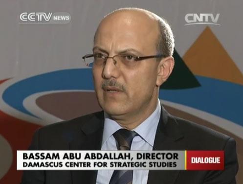 Bassam Abu Abdallah, director of Damascus Center for Strategic Studies