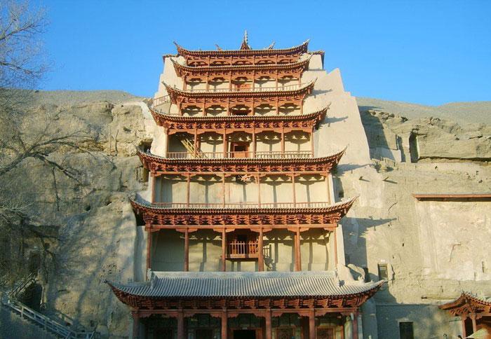 Архив:гротов Могао в провинции Ганьсу
