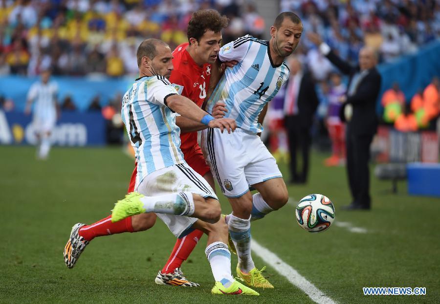 Сборная Аргентины обыграла команду Швейцарии