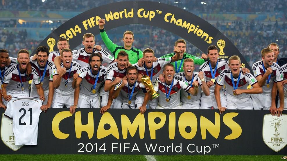 ألمانيا على عرش العالم