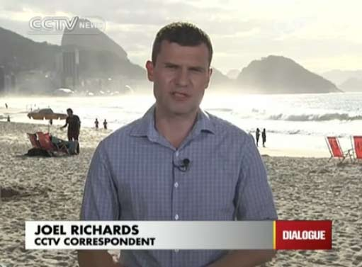 Joel Richards, CCTV correspondent