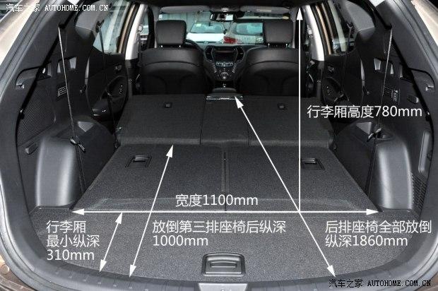 北京现代 全新胜达 2013款 2.0t 自动四驱顶级型