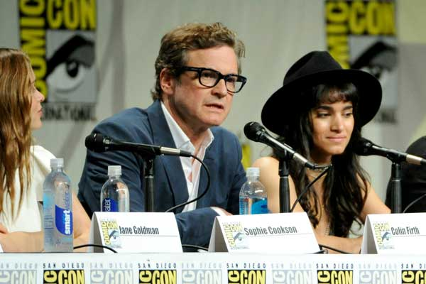 Colin Firth has completed his first action movie at the age of 53, and he