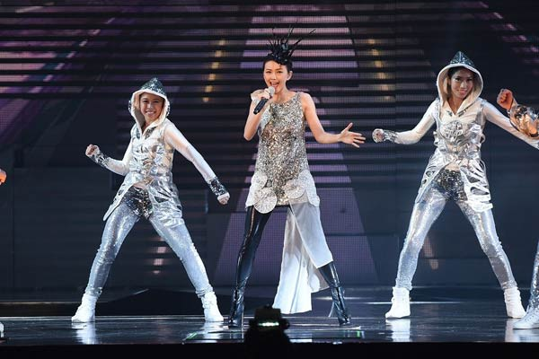 "Singaporean singer Stefanie Sun brings her ""Kepler World Tour"" to Hong Kong on Thursday."