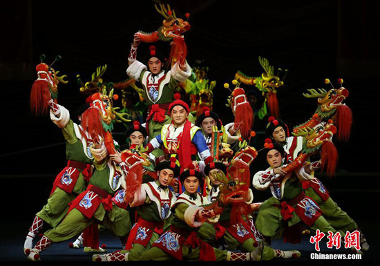 A Peking Opera has made its debut to celebrate the 15th anniversary of Macao