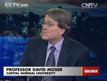 Professor David Moser, Capital Normal University