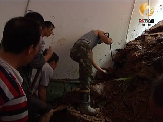 重庆市秀山县公安消防大队凤鸣路中队战士罗兴旺:最开始我们在这间