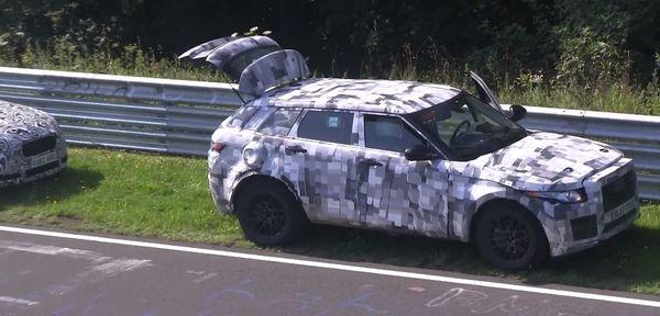 曝捷豹首款SUV车型谍照 或2016年初上市高清图片