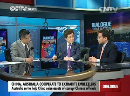 Dialogue 10/23/2014 China, Australia cooperate to extradite embezzlers