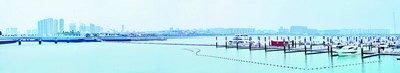 五缘湾游艇码头迎来300多艘游艇。