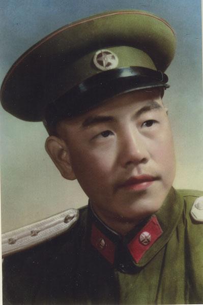 臧桂田1955年摄于南京