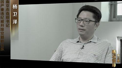 杨卫泽(视频截图)