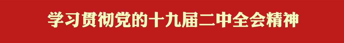 学习贯彻党的龙8国际娱乐官方网站届二中全会精神