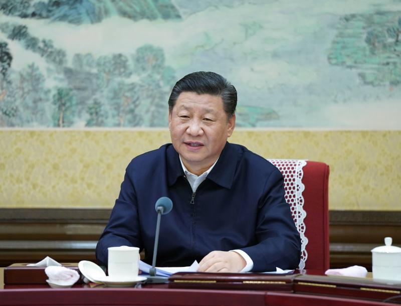12月25日至26日,中共中央政治局召开民主生活会,中共中央总书记习近平主持会议并发表重要讲话。 新华社记者 谢环驰 摄