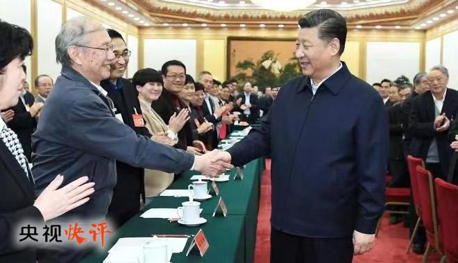 央视快评:用习近平新时代中国特色社会主义思想铸魂育人