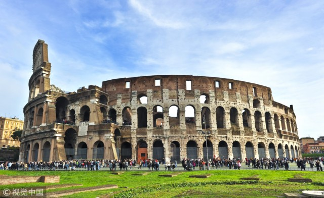 意大利罗马,罗马角斗场