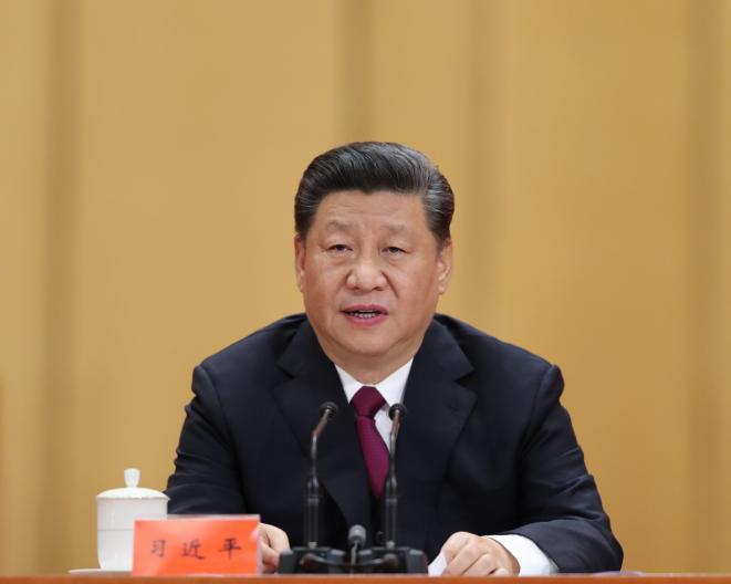2019年4月30日,纪念五四运动100周年大会在北京人民大会堂隆重举行。习近平在大会上发表重要讲话。