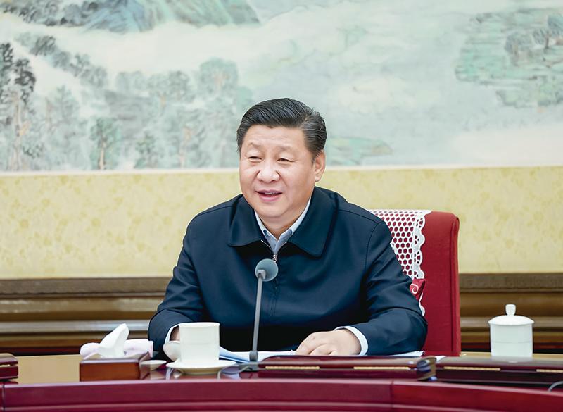 2017年12月25日至26日,中共中央政治局召开民主生活会,中共中央总书记习近平主持会议并发表重要讲话。