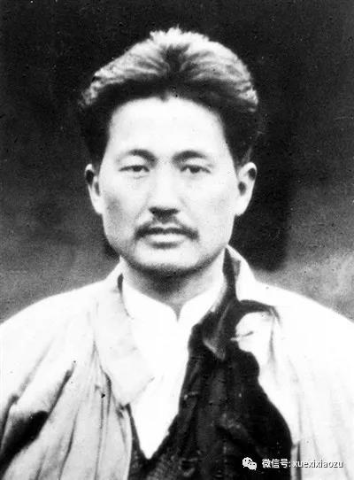 1935年方志敏在南昌赴刑场前的照片