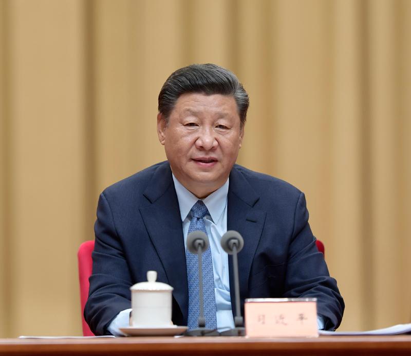 9月27日,全国民族团结进步表彰大会在北京举行。中共中央总书记、国家主席、中央军委主席习近平出席大会并发表重要讲话。新华社记者 李学仁 摄