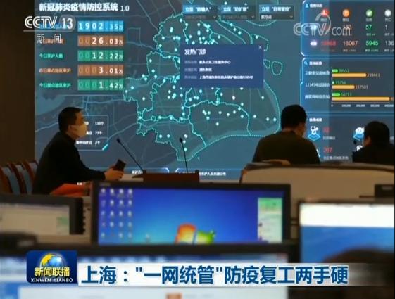 """上海:""""一网统管""""防疫复工两手硬"""