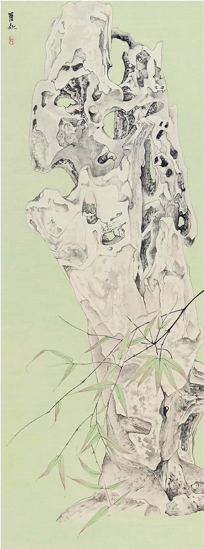 羅穎 清供系列·十五 絹本設色 2014年