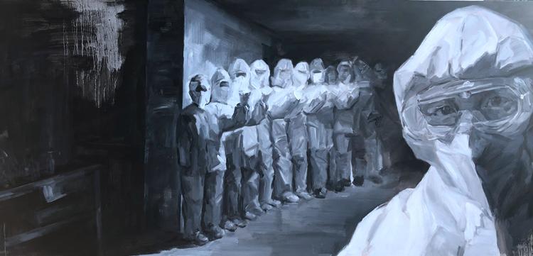 《信念》   戴錫永  油畫